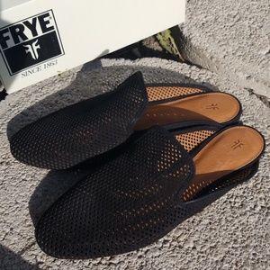 Frye Perforated Slip-Ons